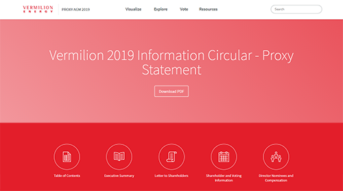 2019 Interactive Management Information Circular