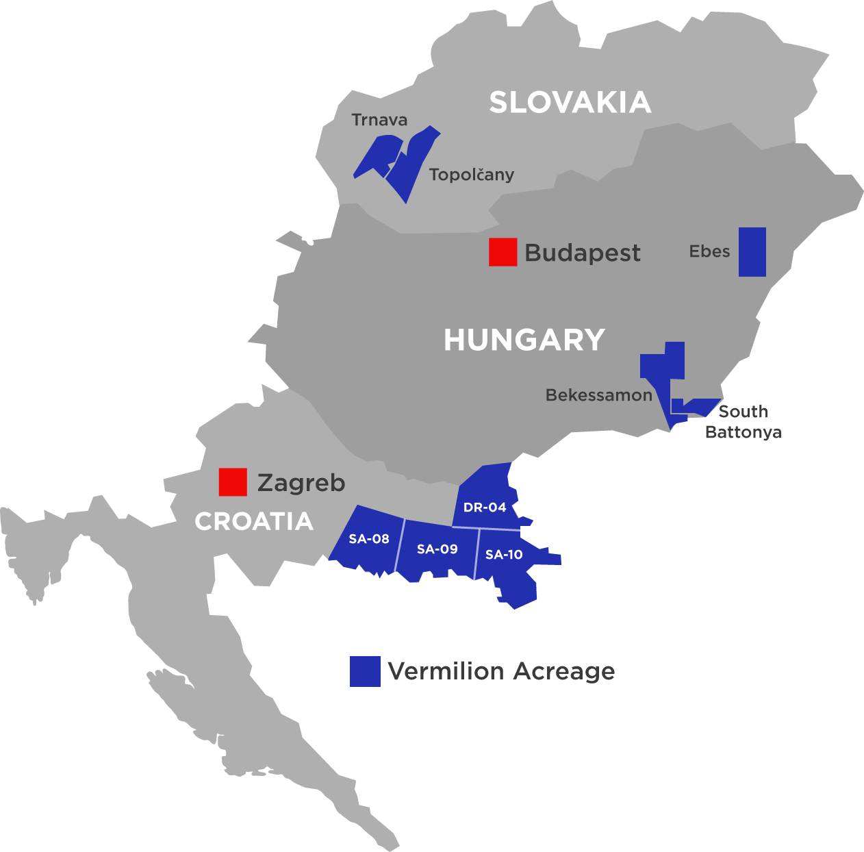 Picture of: Central Eastern Europe Cee Vermilion Energy